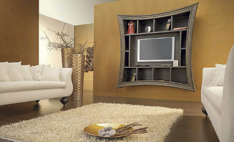 Decorating around a tv 6 inspiring ideas first apartment checklist - Deco lounge tv ...